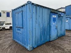 Anti Vandal Steel Portable Office Canteen 16ft x 8ft