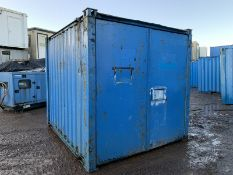 Anti Vandal Steel Portable Storage Container 10ft x 8ft