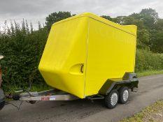 Indespension Tow A Van Box Trailer 10 x 5