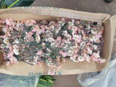 1 x box of used Pink Blossom cut into various lengths
