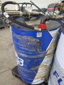Titan cytrac mb synth 75w - 90 drum with pump