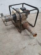 Honda gx 160 water pump