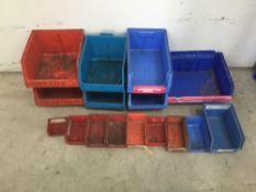 Mixed lot of 16 lim bins