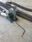 Exhaust extraction unit