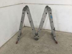 Multifunctional ladders