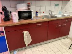 The Contents of Staff kitchen