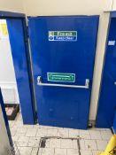 Steel Security Door to Stairwell