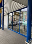 Sectional Steel Curtain Walling