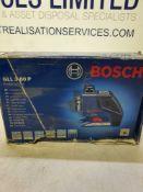 Bosch line laser marker