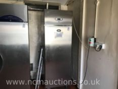 Foster Upright Stainless Steel Freezer