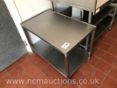 Small Stainless Steel Table
