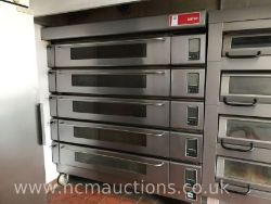 **NO VAT ON HAMMER vat is applicable on Buyer's Premium** Contents of Bakery Inc. Deck Ovens, Refrigerated Counters, Mixers, Freezers and More