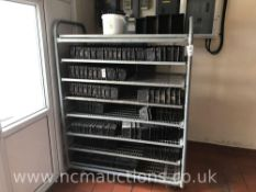 Wheeled Shelving Rack to Include a Variety of Bread Baking Tins