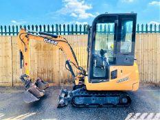 Case CX18B Excavator / Digger (2016)