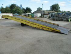 Container Loading Ramp.