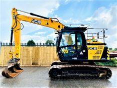 JCB JS131 LC Excavator / Digger (2018)