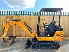 Hanix H17D Excavator / Digger (2015)