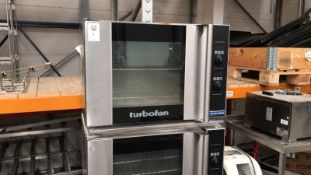 Blue Seal Turbofan Oven x2 on Rolling Stand