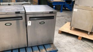 Foster Stainless Steel Under Counter Freezer