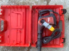 Hilti TE 300 Needle Gun Hammer Drill
