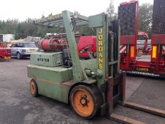 7 Ton Hyster Gas Forklift Truck