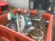 Job Lot of Power Tools Spares