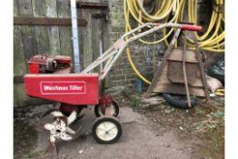 Aspera Motors Petrol Rotorvator - Vintage