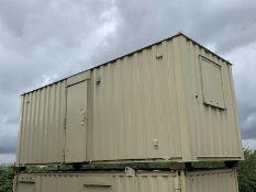 Anti Vandal Steel Portable Site Office 20ft x 8ft