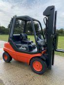 Linde H30d 5m Triple Mast Diesel Forklift Truck