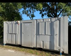 21ft x 8ft Site Office Steel Container