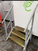 Steel 3 Tread Steps