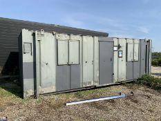 Anti Vandal Steel Portable Site Office 24ft x 8ft