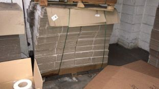 6x Pallets of Cardboard Boxes