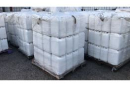 4x Pallets of 20ltr White Plastic Containers