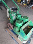 Dfg 500 walk behind concrete floor grinder