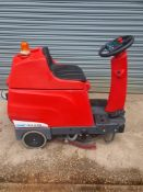 Cleanfix ra535 sit on scrubber dryer