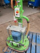 Wolff heavy duty concrete grinder