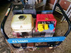 SDMO HX4000 Petrol Generator - Running well
