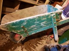 Gibbs Vintage wooden wheel barrow with Pnumatic tyre - Used