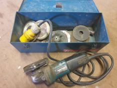 Makita 110V Angle grinder in box - used