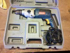 Ryobi Hammer drill in case