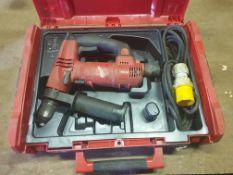 Milwaukee 110V Heavy duty SDS Drill T-TFC201 in box - No manual