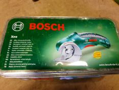 Bosch Universal Cutter - XEO - in original box - Used but in good condition - includes sharpener and