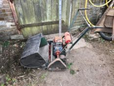Charles Pugh Limited Cylinder mower with grass catcher