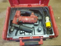 Milwaukee 110V Heavy duty SDS Drill T-TFC201 in box - With manual