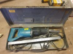 Makita Reciprocating Saw - JR3000 240V 540W - Used - with blades