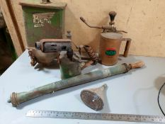 Selection of Vintage horticultural props