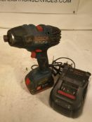 Bosch gdr 18v impact driver drill and charger