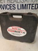 Fischer powerdrive 35 powered Actuated tool