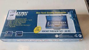 Max Germany 15pcs socket set